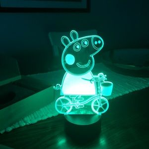 Peppa Pig 3D Neon Light. Brand New in Box.